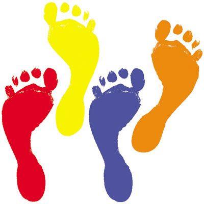 400x400 Coolest Footprints Clipart