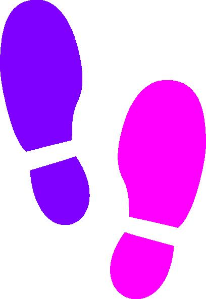 408x593 Footprint Clip Art