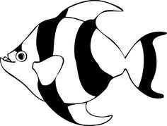 236x179 White Chaetodon Butterfly Fish Png Clipart Clip Art