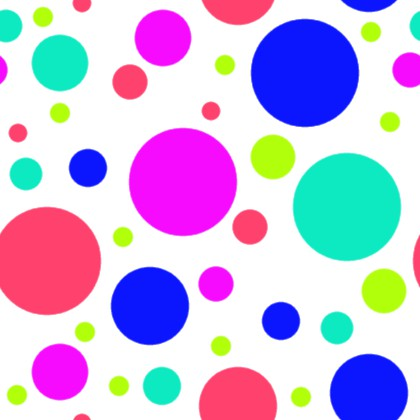 420x420 Click To Get The Codes For This Image Multi Colored Dots On White