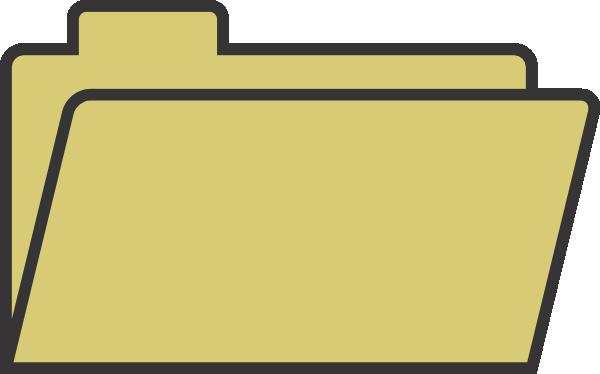 600x374 File Folder Clip Art