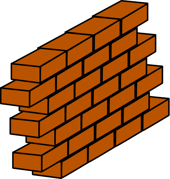 564x594 Firewall Clip Art