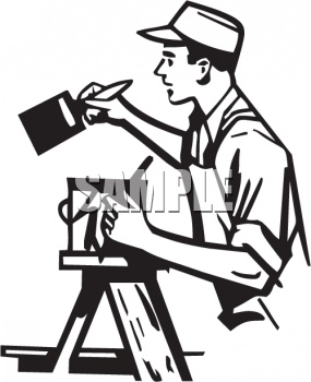 285x350 Painting Wall Clipart Black And White Letters Example