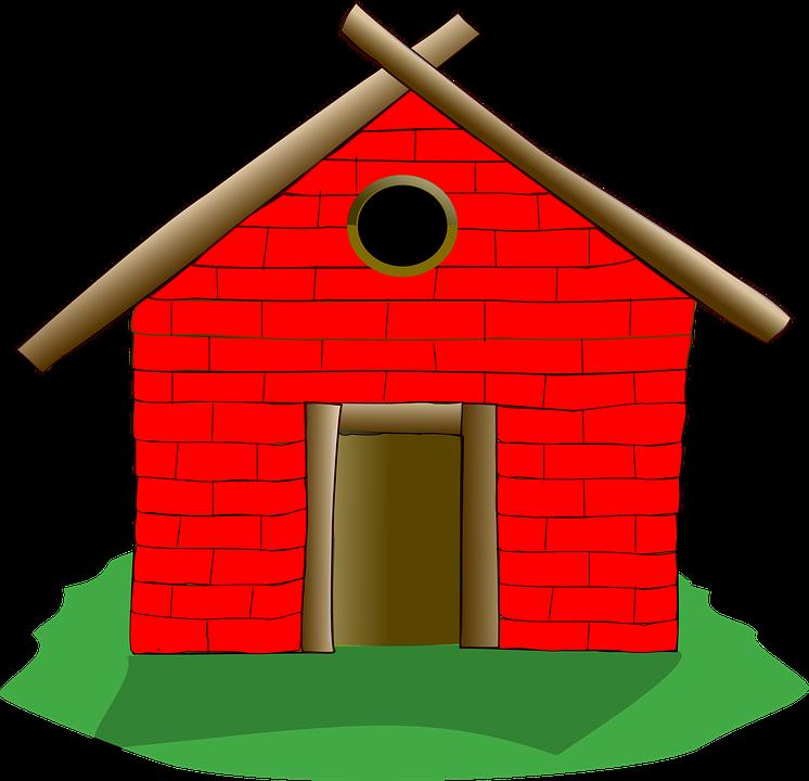 746x720 Brick Clipart House Wall