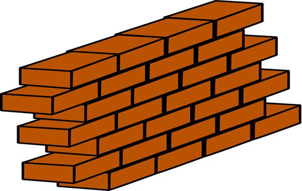 600x380 Bulding Clipart Brick Wall