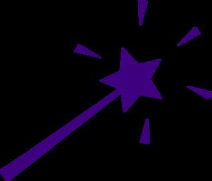299x255 Purple Wand Clip Art