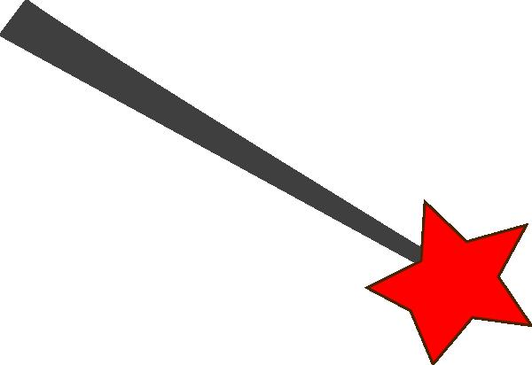 600x412 Star Wizard Wand Clip Art