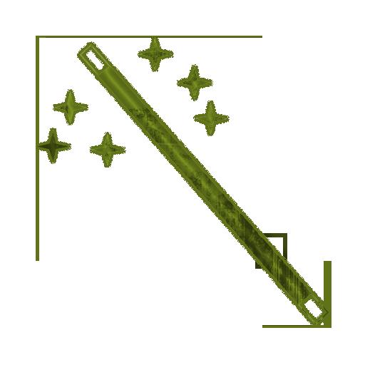 512x512 Wizard Wand Clip Art Clipart