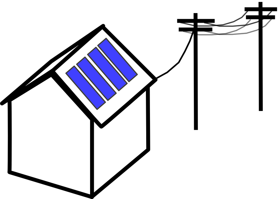 960x685 Warehouse Clipart Solar Panel