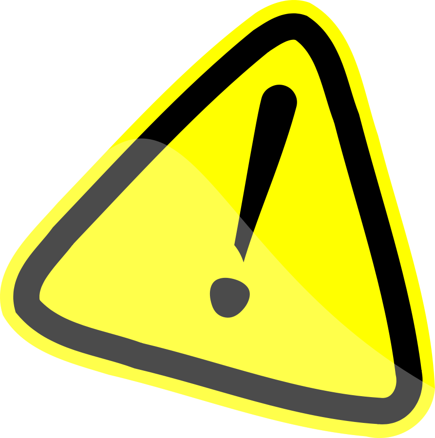 893x900 Caution Sign Clip Art Warning Sign Clipartfest 2