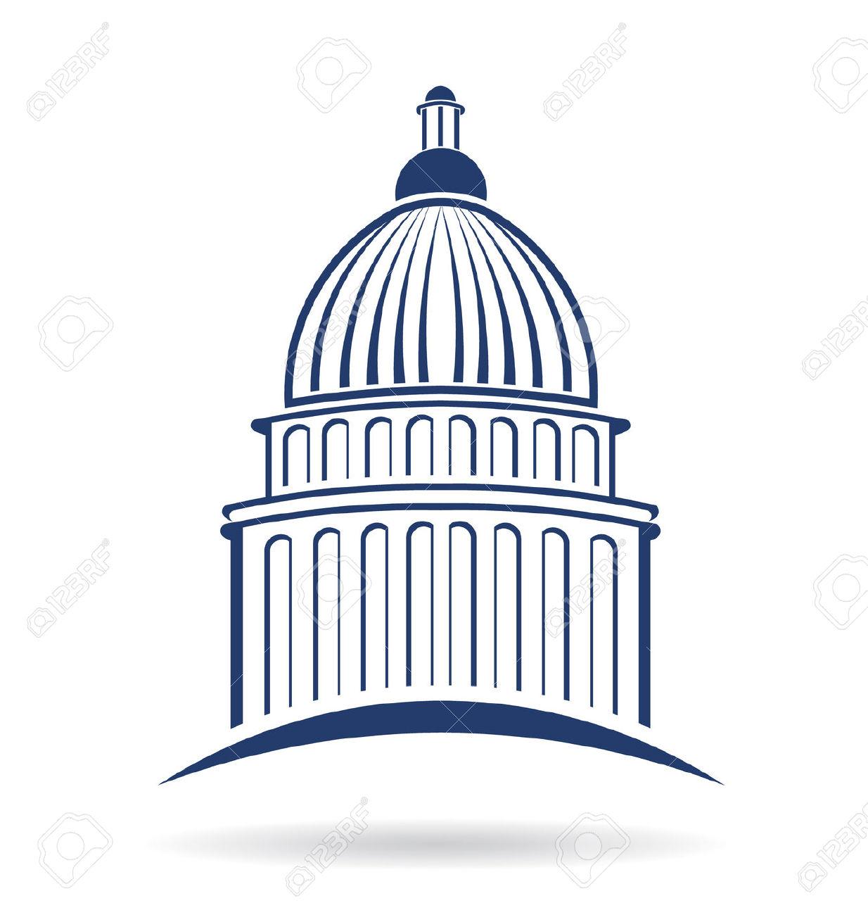 1234x1300 Capitol Building Clipart Png