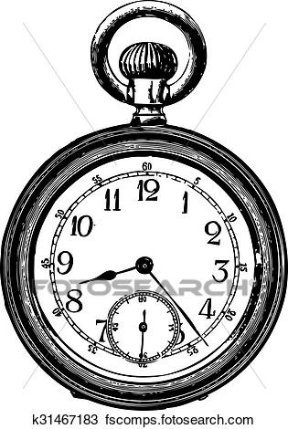 315x470 Pocket Watch Clip Art And Illustration. 1,034 Pocket Watch Clipart