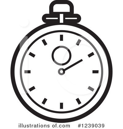 400x420 Stopwatch Clipart