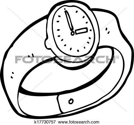 450x420 Wrist Watch Clip Art Cliparts