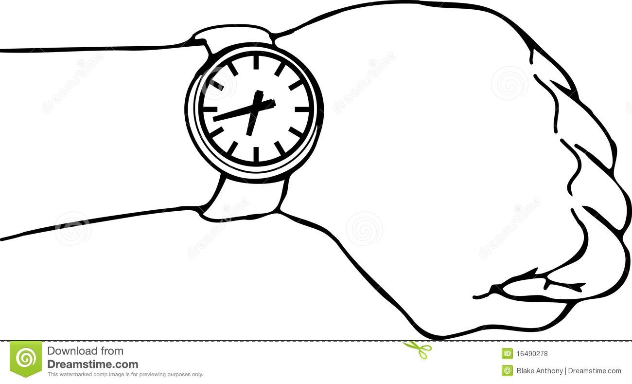 1300x789 Wrist Watch Clipart