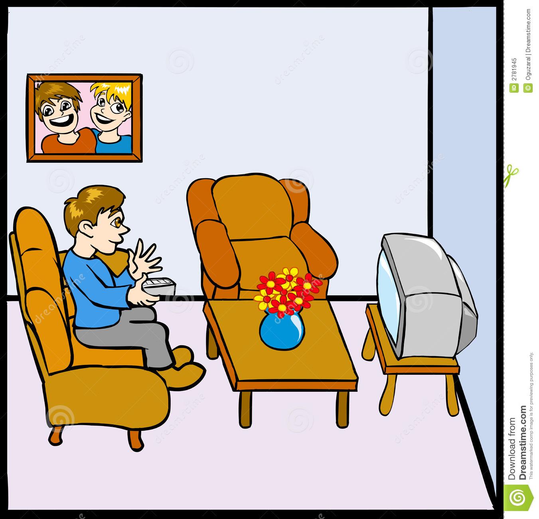 1351x1300 Tv Room Clipart