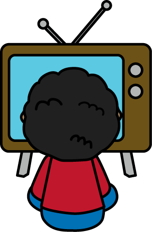 313x479 Watching Tv Kids Watch Tv Clipart Clipartfest
