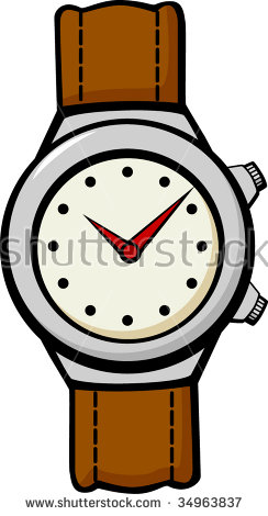 244x470 Wrist Watches Clipart