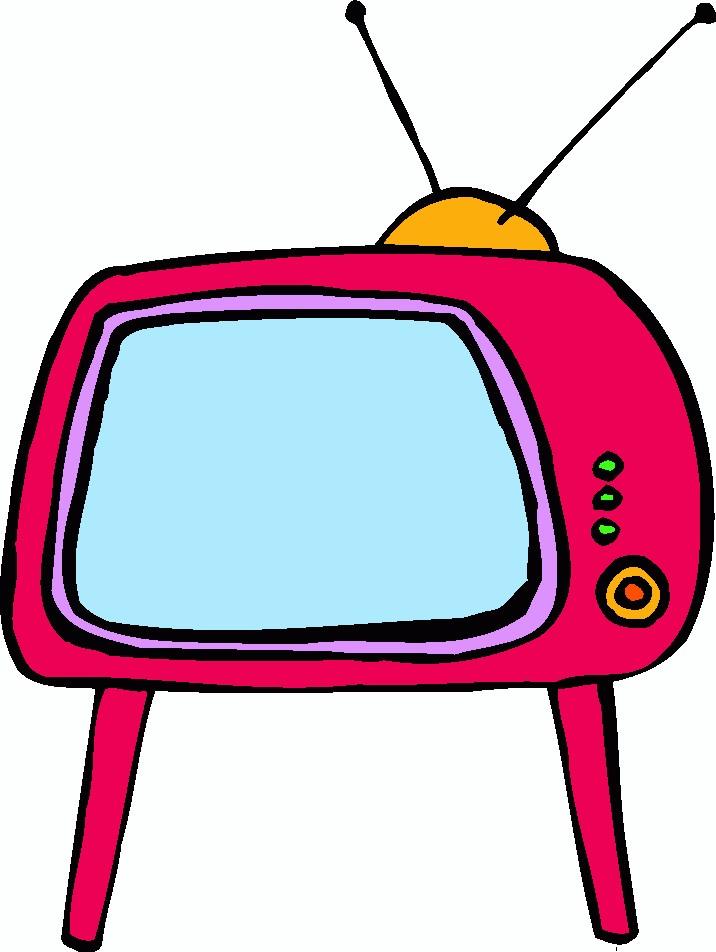 716x952 Watching Tv Clip Art