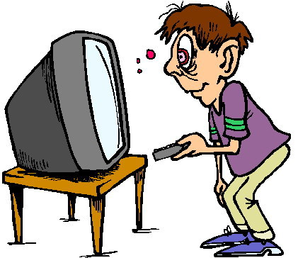 421x364 Watching Tv Clip Art Wikiclipart