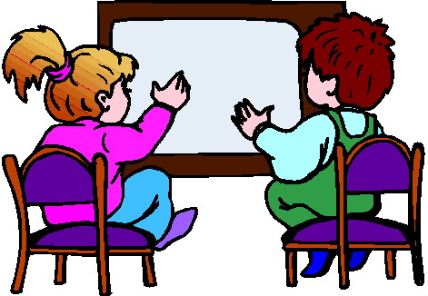 471x326 Family Watching Television Clipart
