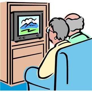 325x325 Watching The News Clipart Amp Watching The News Clip Art Images