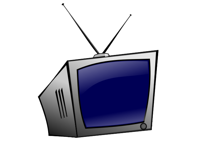 640x480 Clipart Television
