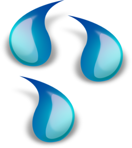 267x299 Water Droplets Clip Art