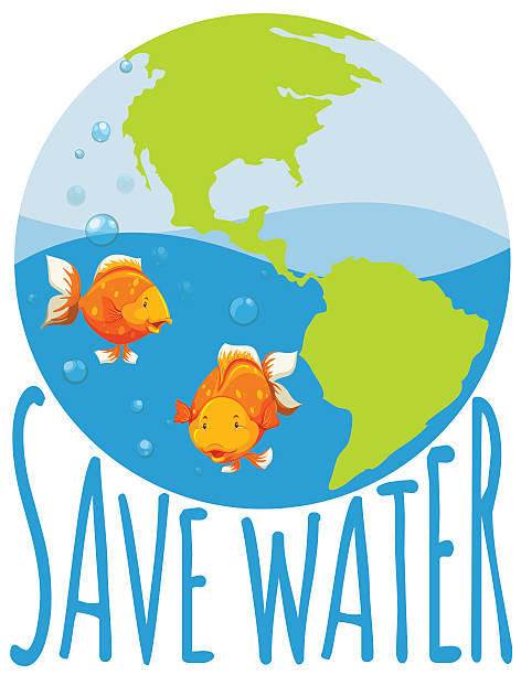 472x612 save water clipart