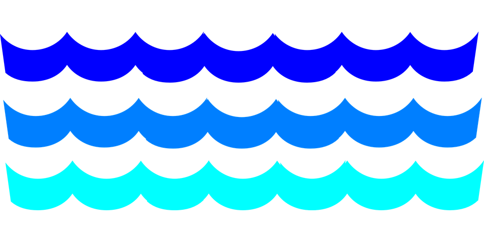 960x480 Ocean clipart pool wave