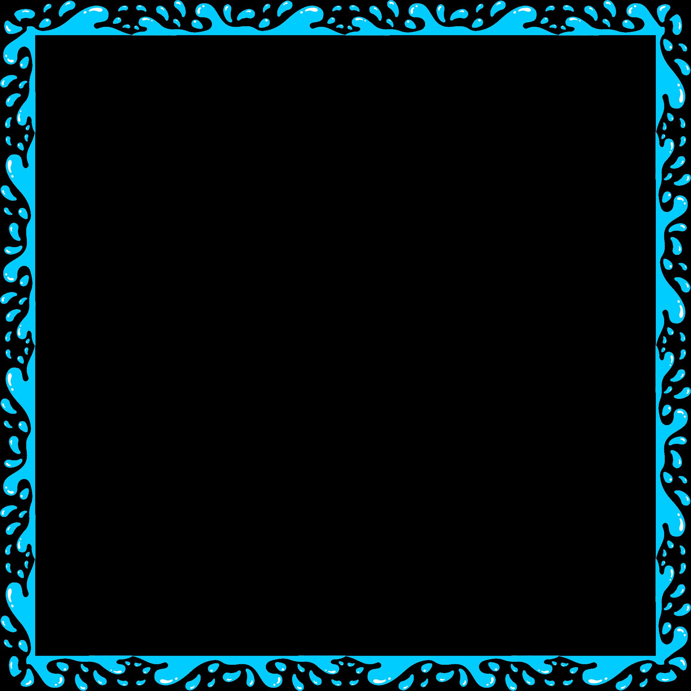 2318x2318 Splash Clipart Border