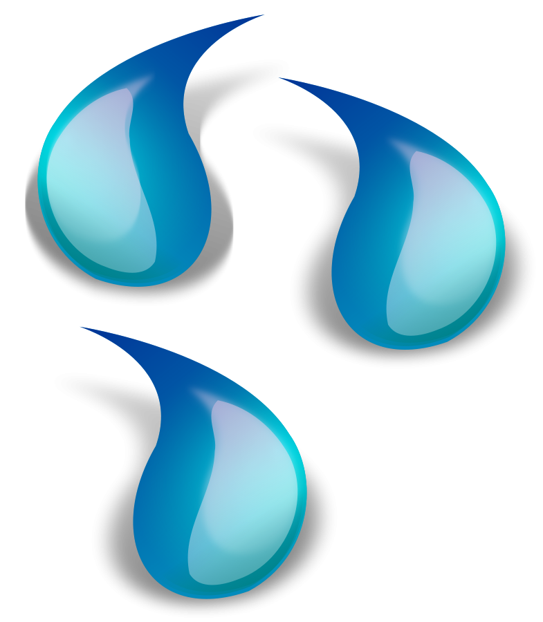 785x900 Cartoon Water Drop Clipart