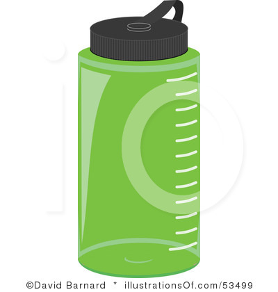 400x420 Clip Art Water Bottle