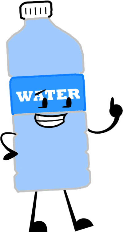 400x757 Water Bottle Clip Art