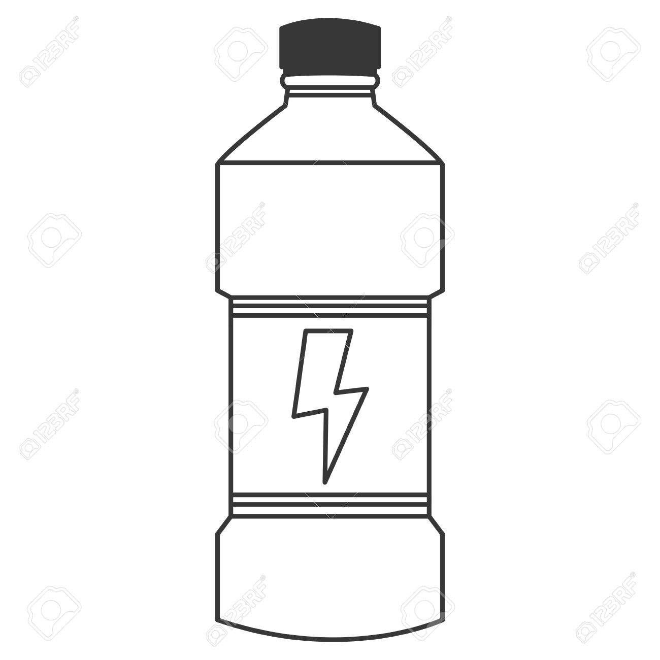 1300x1300 Bottle clipart simple
