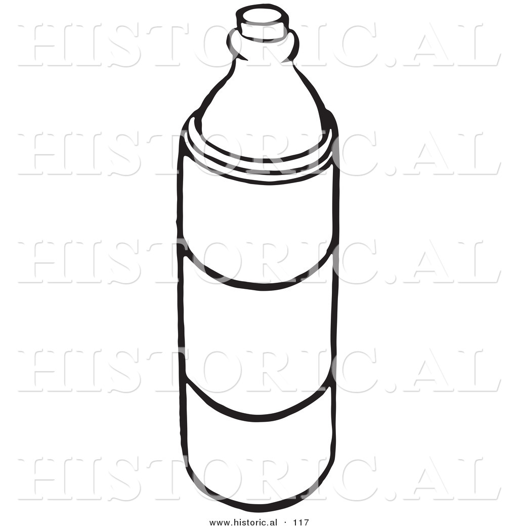 1024x1044 Historical Vector Illustration Of A Water Bottle