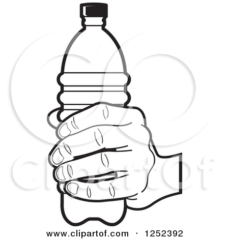 450x470 Bottle clipart colouring