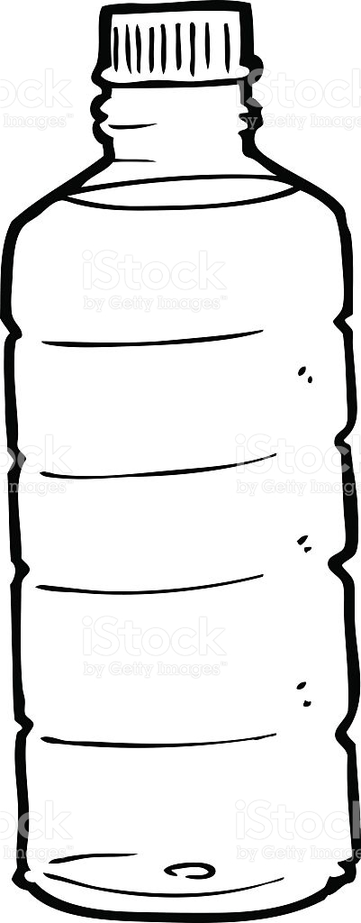 401x1024 Bottle Clipart Line Drawing