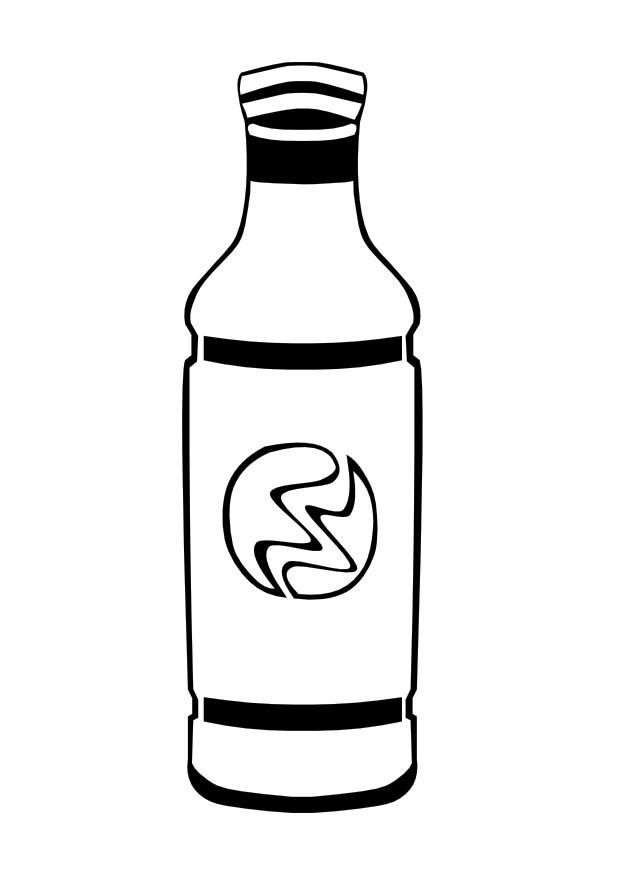 620x875 Coloring Page Bottle