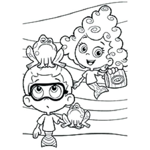 500x500 Printable Bubble Guppies