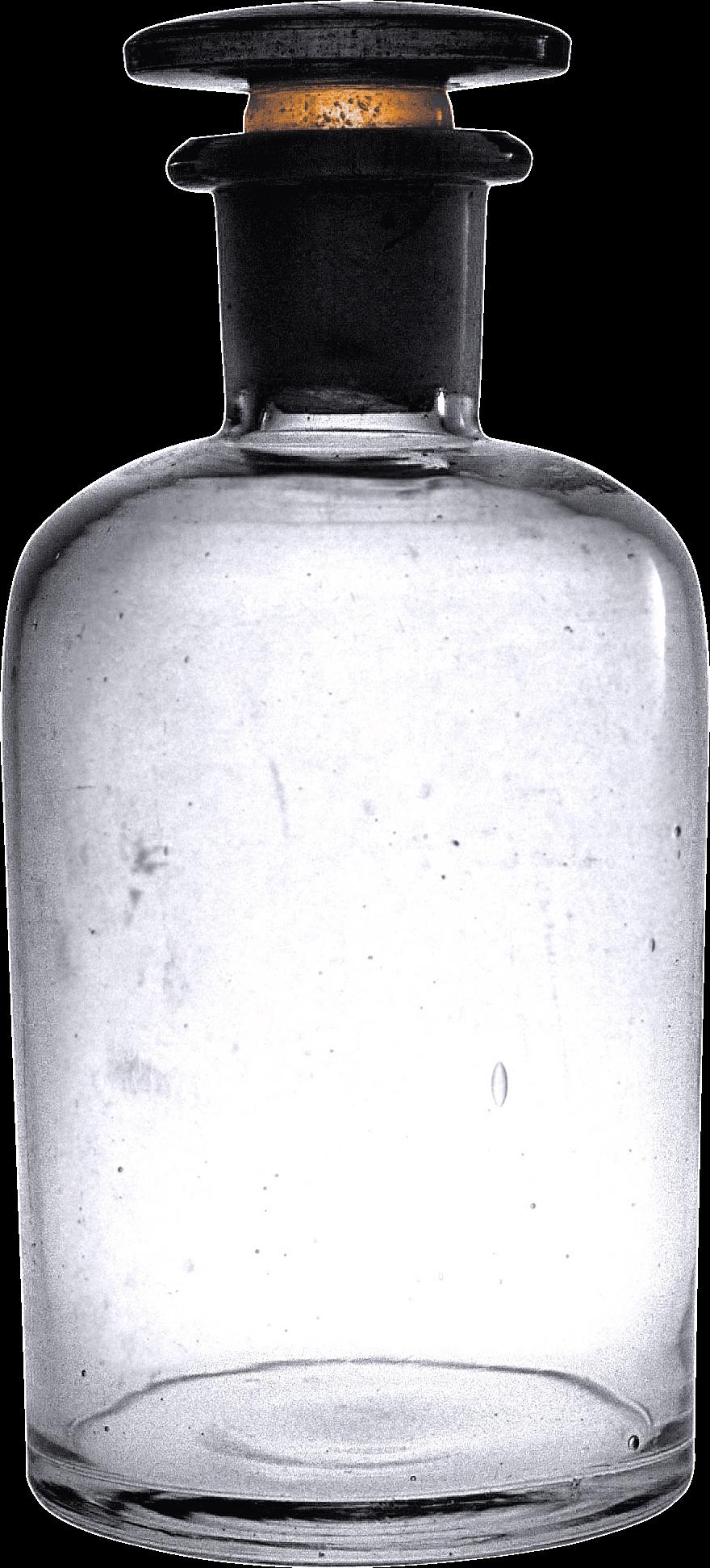 880x1943 Vintage Empty Bottle Transparent Png