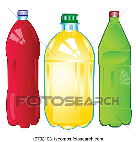 450x470 Clipart Bottles With Carbonated Water The Miscellaneous