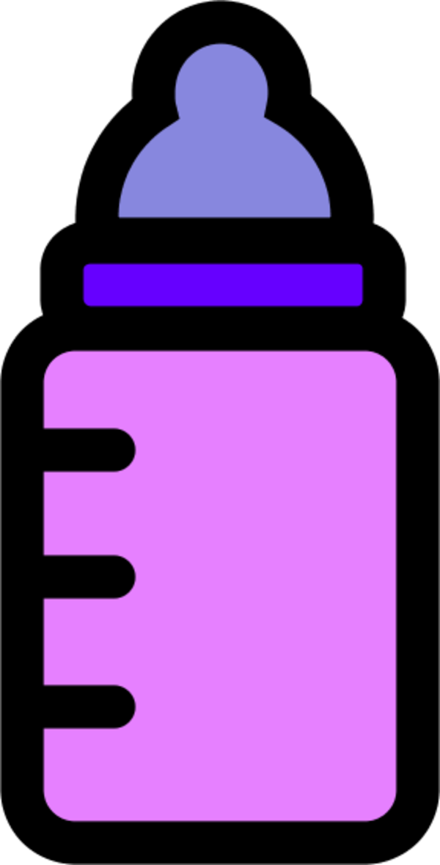 600x1179 Baby Bottle Clip Art