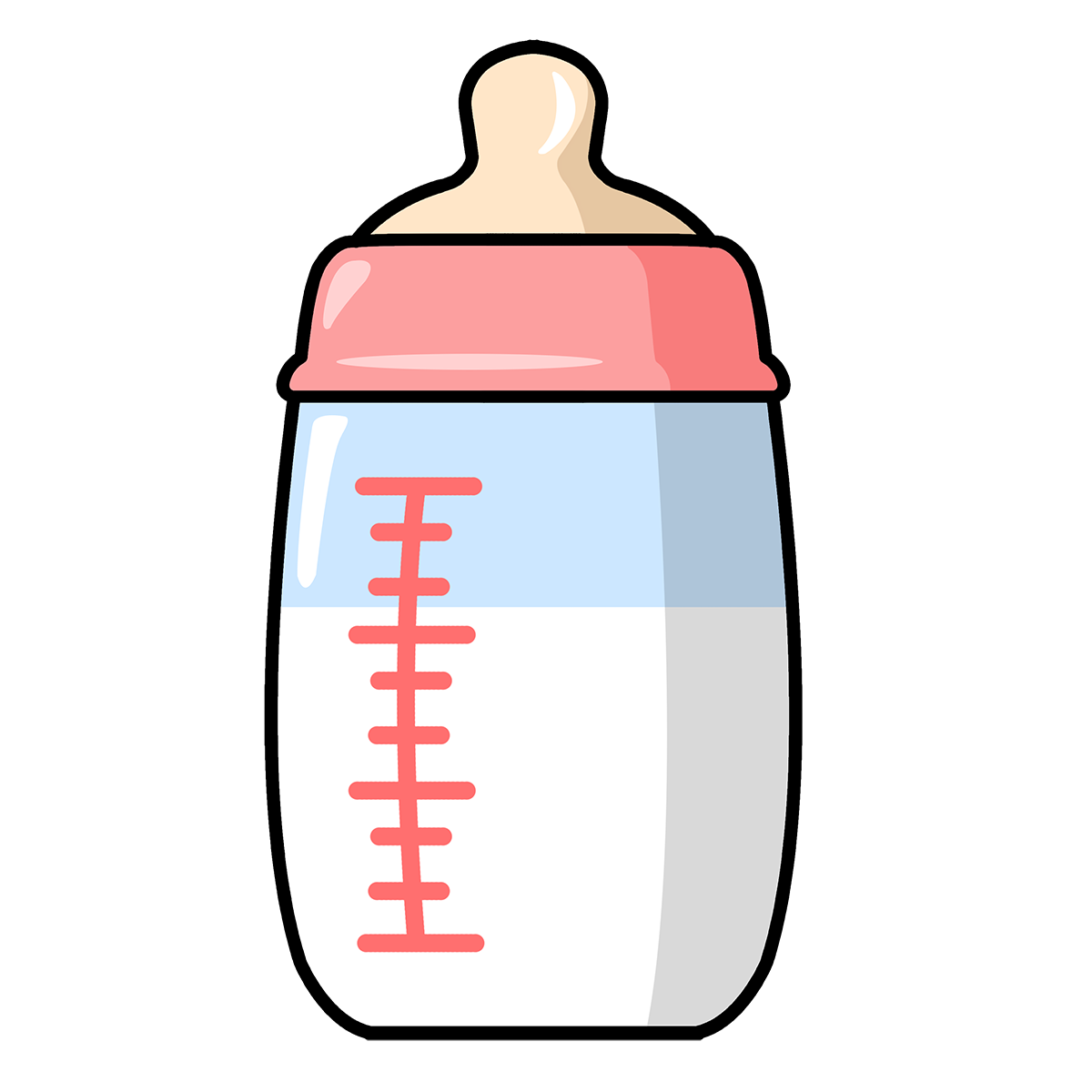 1200x1200 Free Baby Bottle Clipart