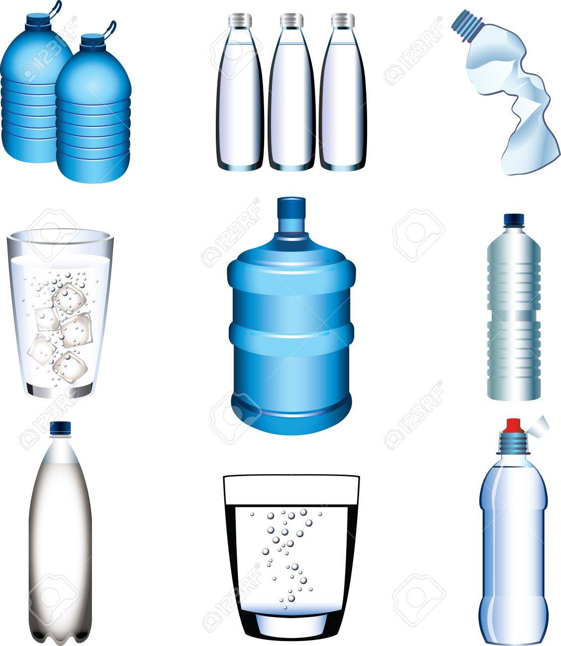 1128x1300 Glass Bottled Water Clip Art Cliparts