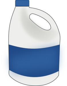 234x299 Bottle Bleach Clip Art