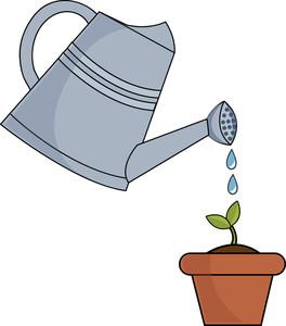 264x300 Gardening Clipart Image