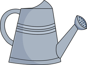 300x224 Watering Can Clipart Image