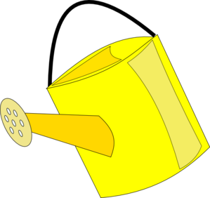 299x282 Watering Can Clipart Cartoon