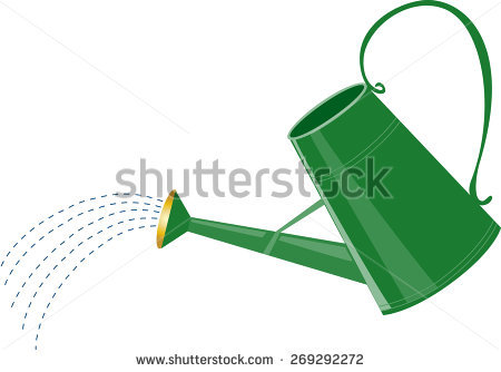 450x334 Watering Can Clipart Sprinkling